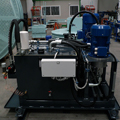Hydraulic unit for press control for the automotive sector