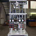 Press control valve bench for insulating panels laboratory